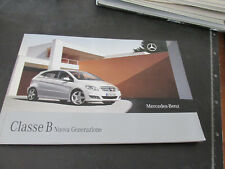 MERCEDES BENZ CLASSE B nuova generazione prospetto brochure 81 pagine ITALIANO