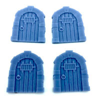 Resin 28mm Fantasy Medieval Arched Jail Door D&D Dungeon Medium