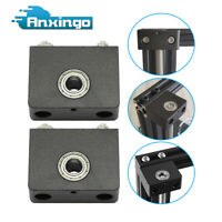 2 Pcs 3D Printer Upgrade Aluminum Z-Axis Leadscrew Top Mount for Creality CR-10S