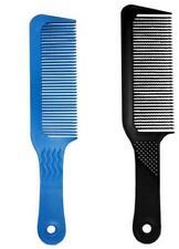 Professional Black Flat Top Stylist Salon Barber Clipper Cutting Hair Comb Tools
