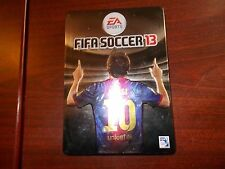PS3 FIFA13 (Soccer) in steelbook collector case PAL
