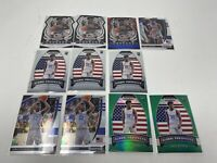Lot Of 11 2020 Prizm Basketball Draft Picks James Wiseman Green & Red White Blue