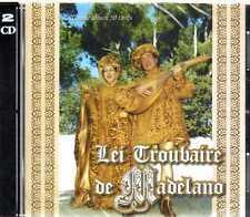 CD double-LP-LEI TROUBAIRE DE MADELANO chants du moyen-age CD NEUF