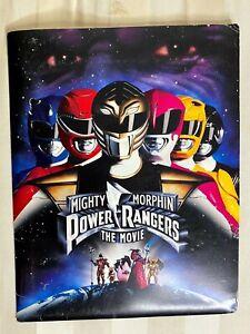 """Mighty Morphin Power Rangers The Movie"" Original Promotional Press Kit 1995"