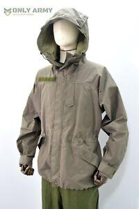 Austrian Army Hooded Goretex Combat Jacket Military Surplus Rain Waterproof Coat