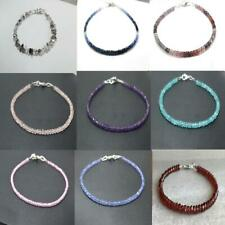 Faceted Beads Beaded Jewelry 7' Bracelet Aaa Mix Color Gemstone 3-4mm Rondelle