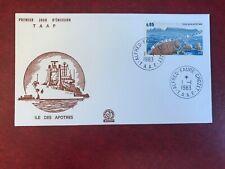 TAAF FSAT FRENCH ANTARCTIC 1983 FDC ILE DES APOTRES APOSTLE ISLANDS