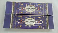 Nag Champa Incense Flora Sticks 100 gram Bulk Box Madhuban (2 x 50 gram boxes)