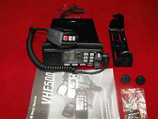 WEST MARINE VHF500 DSC MARINE SUBMERSIBLE RADIO BLACK