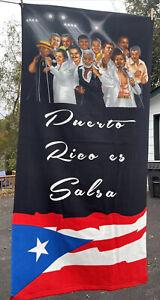 Puerto Rico Es Salsa - Beach Towel