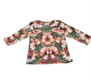 Alfred Dunner womens petite medium  blouse