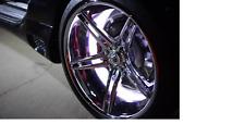 "Oracle Lighting White LED 13.5"" Rim Light Kit Illuminated Wheel Rings 4215-001"