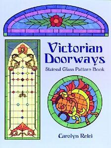 Stained Glass Pattern Book - VICTORIAN DOORWAYS
