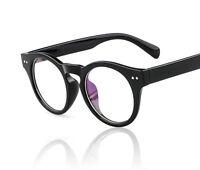 Men Women Vintage  Eyeglass Frame Glasses Retro Spectacles Clear Lens Eyewear Rx