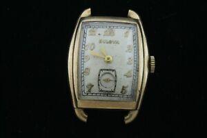 Vintage Bulova Watch -  10AX Movement 17 jewels