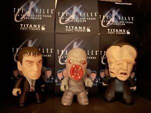 X-Files Titan Monsters ~ Set of 3 ~ Eugene Tooms, Flukeman, & Mutato
