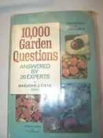 Book 10,000 Garden Questions Third Edition Volume 2 1974 Vintage