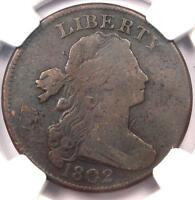 1802 Draped Bust Large Cent 1C S-240 - NGC VF Details - Rare Early Penny