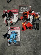 Lot of 3 Transformers Autobot Hot Rod Inferno and Sqweeks loose