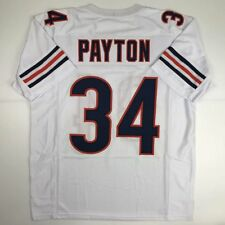 New Walter Payton Chicago White Custom Stitched Football Jersey Size Men's Xl
