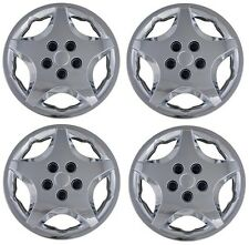 """NEW 2000-2005 Chevy CAVALIER 14"""" Hubcaps Wheelcover CHROME SET"""