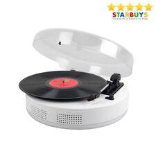 Steepletone 3 Speed Vinyl Record Player Turntable Built-in Speakers & Bluetooth