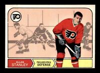 1968-69 O-Pee-Chee #183 Allan Stanley EX+ X1344218