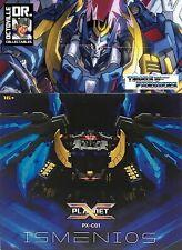 Transformers Masterpiece Planet X PX-C01 Ismenios / IDW MP Deathsaurus Brand New