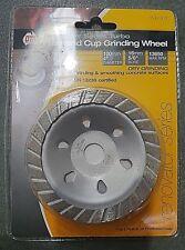 "Diamond Cup Grinding Wheel 100mm 4"" Renovator Series Turbo"