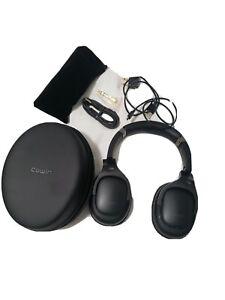 Cowin E9 Wireless Over the Ear Headphones - Black OPEN BOX Perfect Condition
