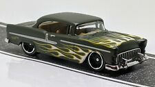 '55 Chevy > Olive Green > Hot Wheels > 2017 > Mint Loose