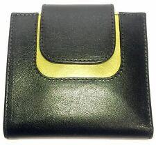 Ply Designs Women's Genuine Leather Wallet. Black