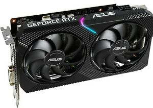 ASUS Dual GeForce RTX 2060 OC Edition 6GB GDDR6 Mini Gaming Graphics Card