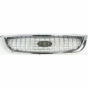 FITS FOR WINDSTAR SE SEL 2000 2001 2002 2003 GRILLE CHROME BLACK