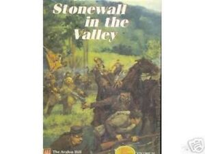 Avalon Hill Stonewall in the Valley, Civil War game,