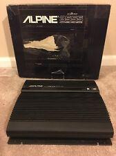Vintage Alpine Model 3555 Bridgeable 4/3/2 Channel Power Amplifier Duo B Circuit