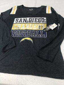 🌴Forty Seven Brand San Diego Chargers Men's Graphic T-Shirt🌴 Size XXL Gray
