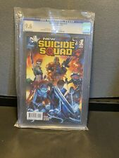NEW SUICIDE SQUAD 1 CGC 9.6 NM/MT Harley Quinn Deathstroke Birds of Prey DC 2014