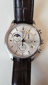 Certina 1988 DS 8 Precidrive Chronograph Dresswatch Moonphase Date B+P HAQ