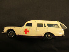 Vintage Lesney Matchbox Mercedes Ambulance #3