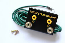 Anti-Static Esd Bench Mount Dual Wrist Strap Ground with 10mm Studs