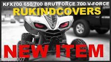 650 /700 Prairie 700 V-Force KFX 700 650 BRUT FORCE BLUE EYES Headlight Covers