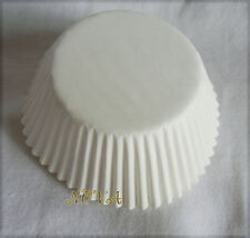 100pcs Plain white Cupcake liners baking paper cup party favor standard size