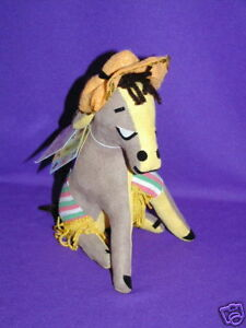 VINTAGE APPLAUSE DAKIN DREAM PETS LAST GROUP MADE PANCHO DONKEY