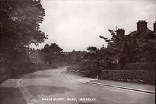 Worsley, Salford. Hazlehurst Road.