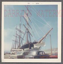 Vintage Snapshot Photo Ship at Fishermans Wharf San Francisco California 712710