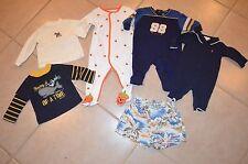 Baby Boys 3 - 6 months 6 Pc Lot Polo Ralph Lauren, Gymboree, Baby Gap, Carters
