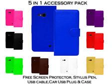 Fundas con tapa Para Nokia Lumia 735 para teléfonos móviles y PDAs