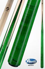 New Green Viking Pool Cue Billiards Stick Lifetime Warranty Free Shipping A355