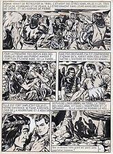 BOB LEGUAY METAMORPHOSE PLANCHE TIM L'AUDACE ANNEES 1950 PAGE FIN EPISODE